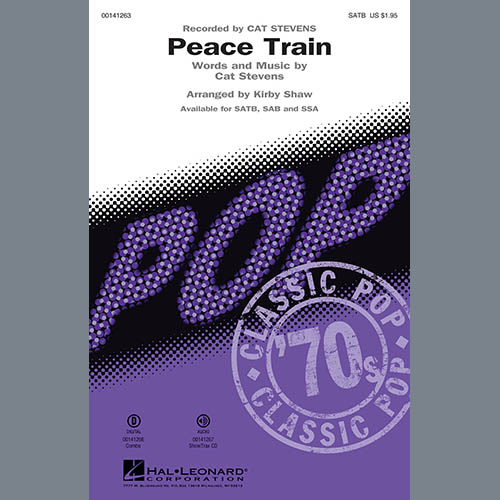 Kirby Shaw, Peace Train - Guitar, Choir Instrumental Pak