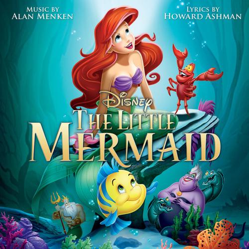 Alan Menken & Howard Ashman, Kiss The Girl (from The Little Mermaid), Violin