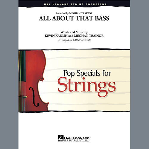 Larry Moore, All About That Bass - Conductor Score (Full Score), Orchestra