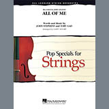Download Larry Moore All of Me - Violin 3 (Viola Treble Clef) sheet music and printable PDF music notes