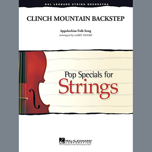 Larry Moore, Clinch Mountain Backstep - Conductor Score (Full Score), Orchestra
