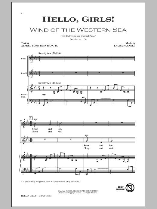 Hello, Girls! sheet music