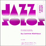 Download Lennie Niehaus 'Jazz Solos For Alto Sax, Volume 2' printable sheet music notes, Unclassified chords, tabs PDF and learn this Woodwind Solo song in minutes