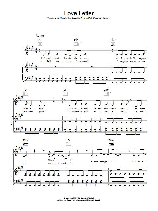 Love Letter sheet music
