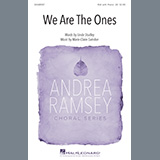 Download Linda Studley and Marie-Claire Saindon We Are The Ones sheet music and printable PDF music notes