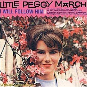 Little Peggy March, I Will Follow Him (I Will Follow You), Piano, Vocal & Guitar (Right-Hand Melody)