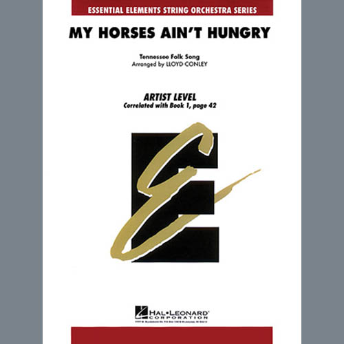 Lloyd Conley, My Horses Ain't Hungry - Cello, Orchestra