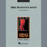 Download Lloyd Conley Three Renaissance Dances - Conductor Score (Full Score) sheet music and printable PDF music notes