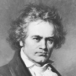 Download Ludwig van Beethoven 'Symphony No. 7 - Allegretto Theme' printable sheet music notes, Classical chords, tabs PDF and learn this Piano Solo song in minutes