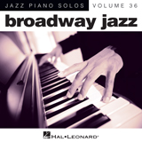 Download Harry Warren 'Lullaby Of Broadway [Jazz version] (arr. Brent Edstrom)' printable sheet music notes, Broadway chords, tabs PDF and learn this Piano song in minutes