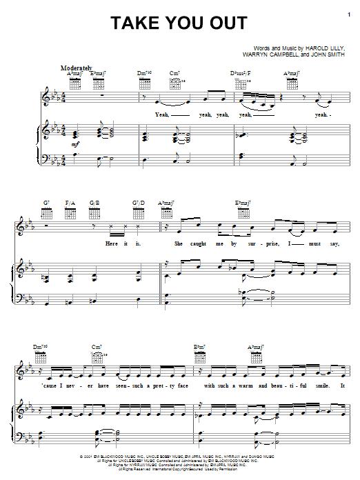 Take You Out sheet music