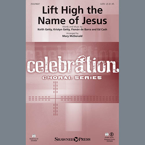 M McDonald, Lift High the Name of Jesus - Banjo, Choir Instrumental Pak