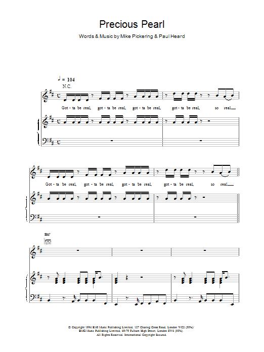 Precious Pearl sheet music