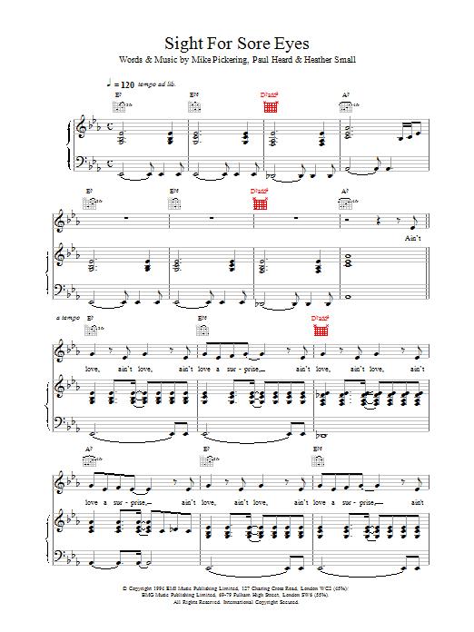 Sight For Sore Eyes sheet music
