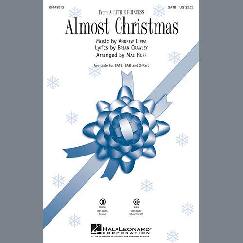 Mac Huff, Almost Christmas - Acoustic Guitar, Choir Instrumental Pak