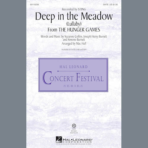 Sting, Deep In The Meadow (arr. Mac Huff), SATB