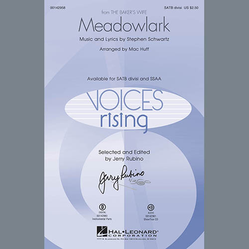 Mac Huff, Meadowlark - Flute, Choir Instrumental Pak