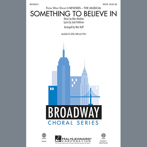 Mac Huff, Something To Believe In, SATB