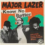 Download Major Lazer 'Know No Better (featuring Camila Cabello)' printable sheet music notes, Pop chords, tabs PDF and learn this Piano, Vocal & Guitar song in minutes