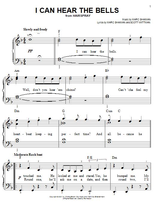 I Can Hear The Bells sheet music
