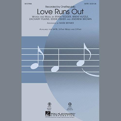 Mark Brymer, Love Runs Out - Bb Trumpet 1, Choir Instrumental Pak