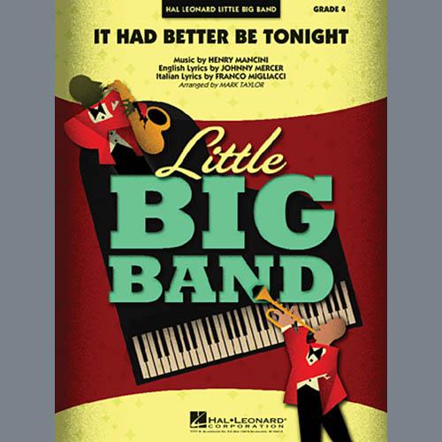 Mark Taylor, It Had Better Be Tonight - Full Score, Jazz Ensemble