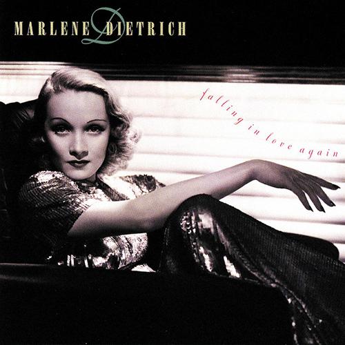 Marlene Dietrich, Falling In Love Again, Melody Line, Lyrics & Chords