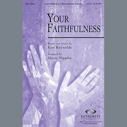 Your Faithfulness - Double Bass sheet music