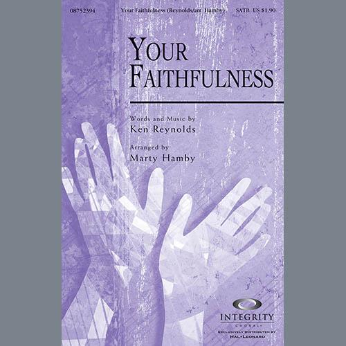 Your Faithfulness - Keyboard String Reduction sheet music