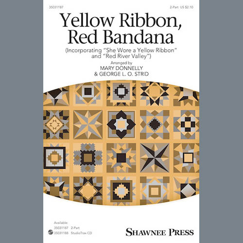 Mary Donnelly and George L.O. Strid, Yellow Ribbon, Red Bandana (Incorporating