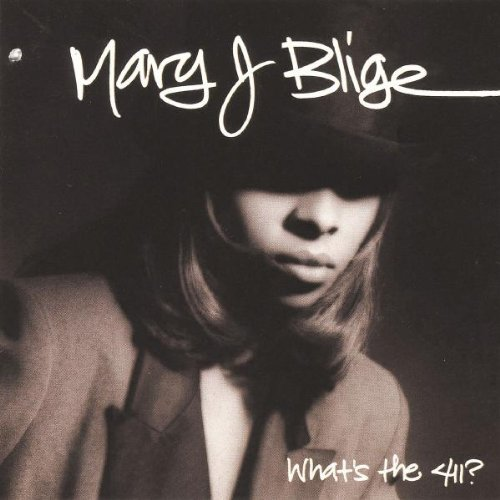 Mary J. Blige, Real Love, Piano, Vocal & Guitar (Right-Hand Melody)