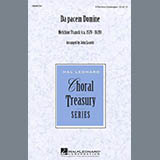 Download Melchior Franck Da Pacem Domine (arr. John Leavitt) sheet music and printable PDF music notes