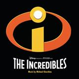 Download Michael Giacchino 'Missile Lock (from The Incredibles)' printable sheet music notes, Film and TV chords, tabs PDF and learn this Piano song in minutes