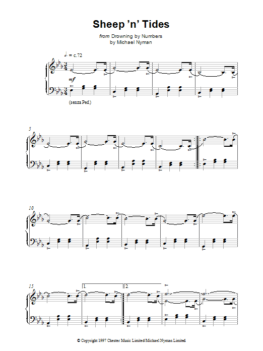 Sheep 'N' Tides sheet music