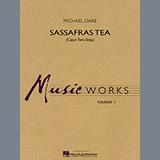 Download Michael Oare Sassafras Tea (Cajun Two-Step) - Baritone T.C. sheet music and printable PDF music notes