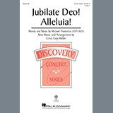 Download Michael Praetorious Jubilate Deo! Alleluia! (arr. Cristi Cary Miller) sheet music and printable PDF music notes