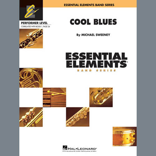 Michael Sweeney, Cool Blues - Full Score, Concert Band