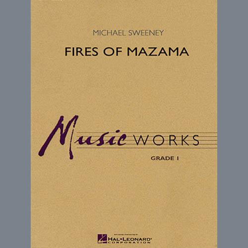 Michael Sweeney, Fires of Mazama - Full Score, Concert Band