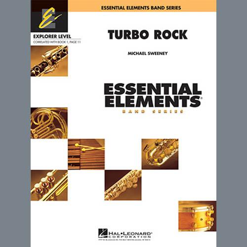 Michael Sweeney, Turbo Rock - Full Score, Concert Band