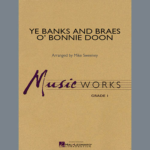 Michael Sweeney, Ye Banks and Braes o' Bonnie Doon - Full Score, Concert Band