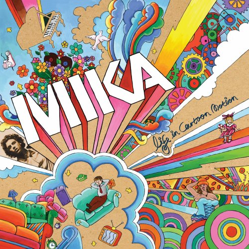 Mika, Love Today, Piano, Vocal & Guitar