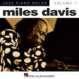 Download Miles Davis Tune Up sheet music and printable PDF music notes