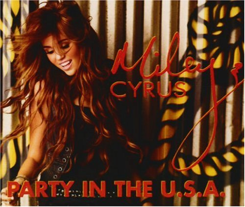 Miley Cyrus, Party In The USA, Piano, Vocal & Guitar (Right-Hand Melody)