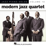 Download Modern Jazz Quartet 'Reunion Blues' printable sheet music notes, Jazz chords, tabs PDF and learn this Piano Solo song in minutes