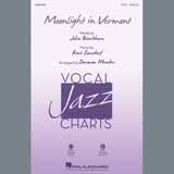 Download John Blackburn & Karl Suessdorf 'Moonlight in Vermont (arr. Darmon Meader)' printable sheet music notes, Standards chords, tabs PDF and learn this SATB song in minutes
