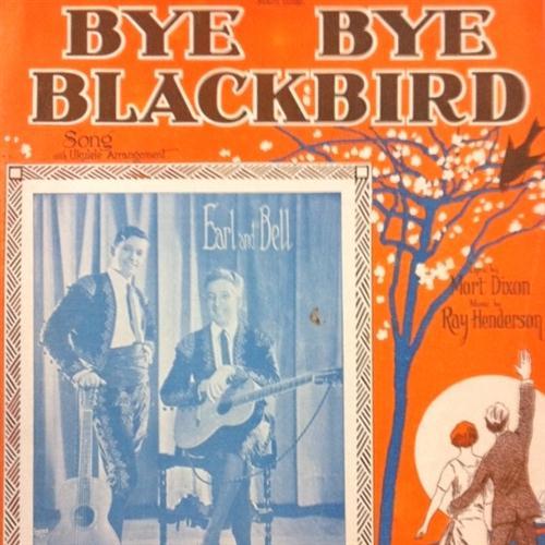 Mort Dixon, Bye Bye Blackbird, Piano