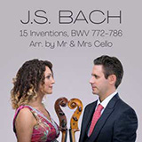 Download Mr & Mrs Cello Invention 12 In A Major sheet music and printable PDF music notes