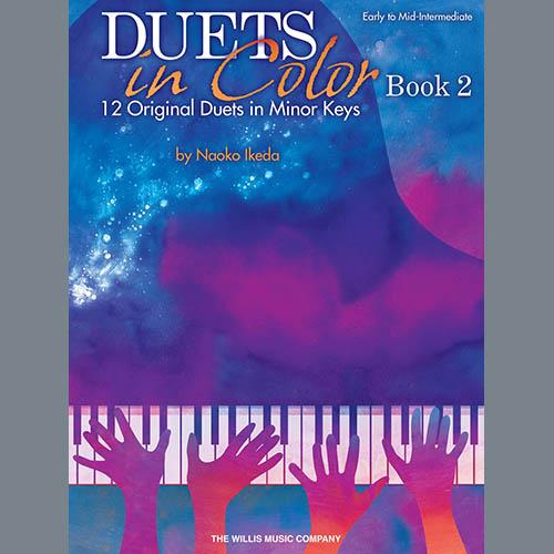 Naoko Ikeda, Orange Flames At Night (Hot Night), Piano Duet
