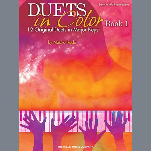 Naoko Ikeda, Yellow Mimosas In Bloom, Piano Duet
