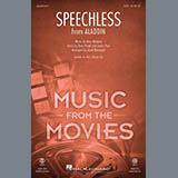 Download Naomi Scott Speechless (from Disney's Aladdin) (arr. Jacob Narverud) sheet music and printable PDF music notes